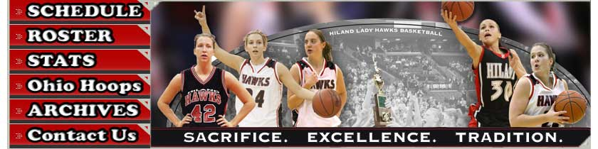 Berlin Hiland Lady Hawk Basketball